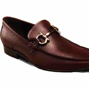 Men Brown Corporate-Casual Loafers Shoe