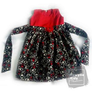 Nuwyne Kids Children Classic Party Dress