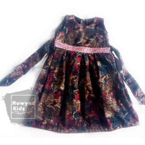 Nuwyne Kids Children Classic Petal Ball Dress