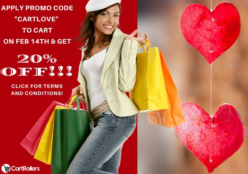 Cart Love Away With Up To 20% Discount This Valentine