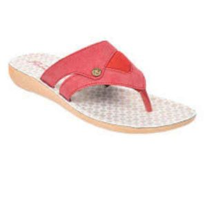 Women Red-Milk Colored Rockabout Slippers