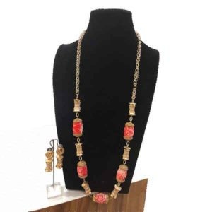 Women Nuggets Gold Accessories Beaded Jewelry
