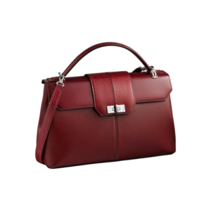 Women Red Leather Bag