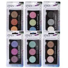 L.A. Colours 3 Nude Colours Eyeshadow