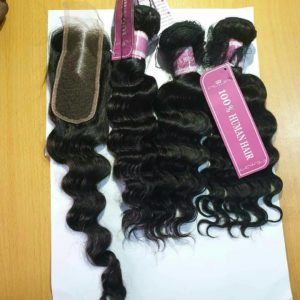 Women Loosed Waves Human Hair-16 Inches