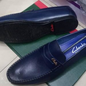 Men's Blue CLARK Designer Shoe