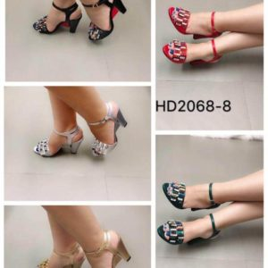 Women Sleek Heeled Sandals