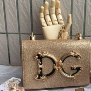 Women Gorgeous Gold D&G Sling Bag
