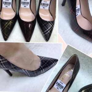 Classy Ladies Burberry Covered Shoe