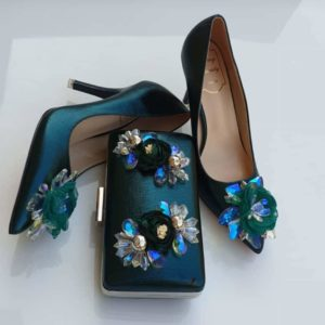 Trendy Ladies Cover Shoe With Matching Purse