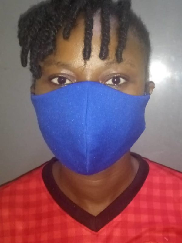 3 Ply Double Padded Filter Cloth Face Mask