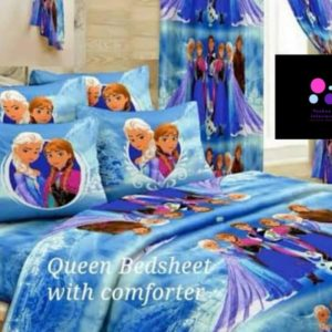 Frozen Bedsheet 4 Pillow Cases - Let It Go