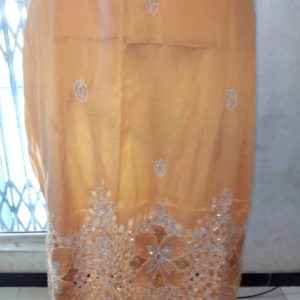 Indian George Lace Fabric - Gold