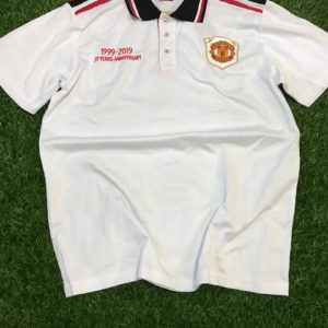Club Crested Nike Polo T-Shirt - Manchester United