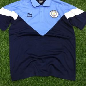 Club Crested Puma Polo T-Shirt - Manchester City