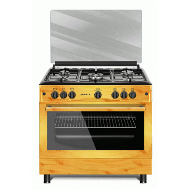 MAXI Gas Cooker 60*90 PIPE 5B WOOD