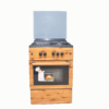 MAXI Gas Cooker 60*60 (3+1) WOOD