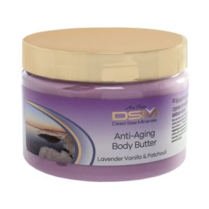 Anti-Aging Body Butter with Lavender, Vanilla and Patchouli 300ML