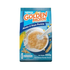 Nestle Golden morn 450g -Maize and Soya Protein