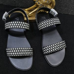 BB LEATHER SANDALS