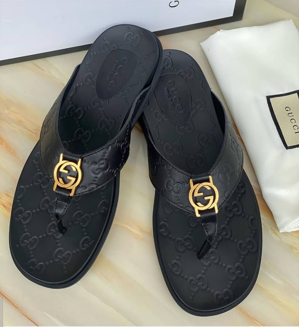 gucci palm slippers price