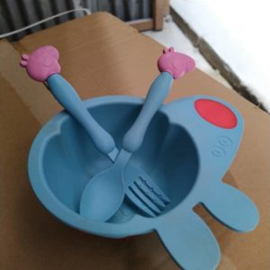 Children Plate And Cutlery Set