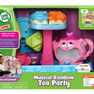 LeapFrog Musical Rainbow Tea Party Revised Edition