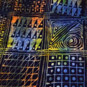 Adire Batik 5 Yards in Pack
