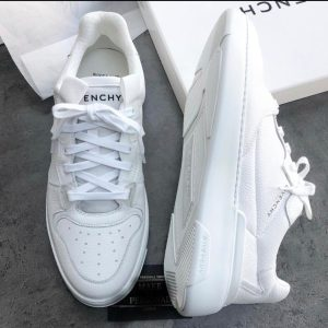 GIVENCHY WHITE LOW TOP SNEAKERS