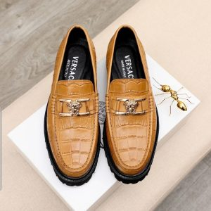 Carton Brown Tire Sole Loafers Shoe