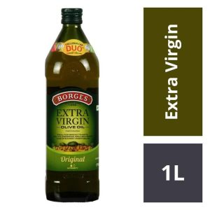 BORGES EXTRA VIRGIN OIL 1 LITERS X 6