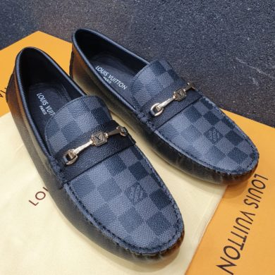 LUIOSVUITTON black LOAFERSps://www.cartrollers.com/product/dior-mens-loafers/