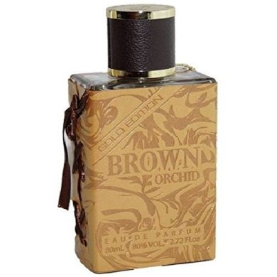 Fragrance World Brown Orchid Gold Edition EDP 80ml Perfume For Men