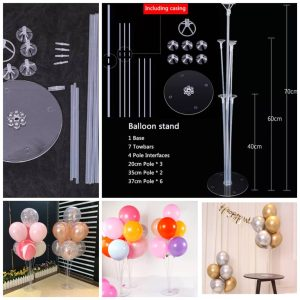 2 Set Of Balloon Stand