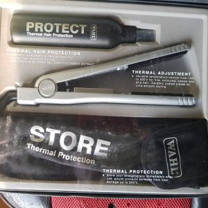 WAHL HAIR STRAIGHTENER/ THERMAL HAIR PROTECTION/ STORE THERMAL PROTECTION