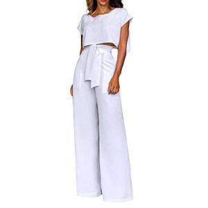 LADIES UNIQUE CLASSY TOP AND TROUSER SET