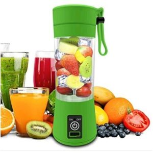 Portable Rechargeable Battery Juice Blender - 6 Blade