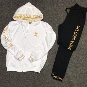 LOUIS VUITTON UP AND DOWN HOODIES