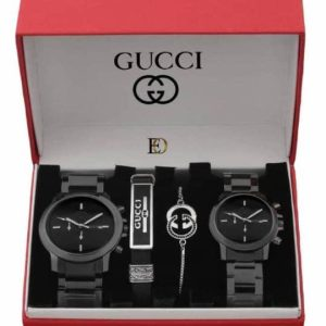 GUCCI Premium Quality His and Hers Fashion Accessories for the Stylish Couple GIFT SET