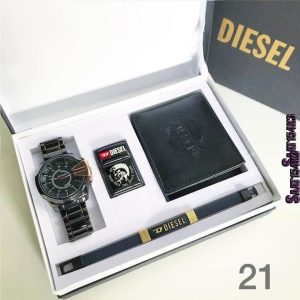 DIESEL Quality His and Hers Fashion Accessories GIFT SET