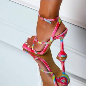 LADIES FASHION HIGH HEEL SANDALS