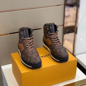 LV PURE LEATHER CHELSEA BOOT SNEAKERS