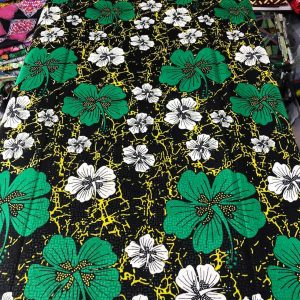 HIGH-QUALITY COTTON ANKARA MATERIAL 6 YARD