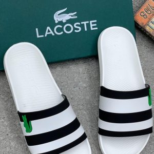 LACOSTE CROSS PALM SLIPPERS