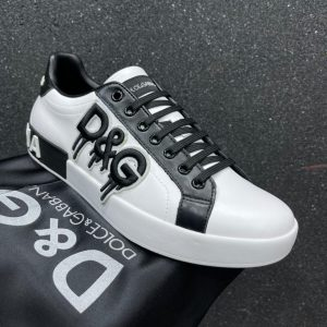 D&G MEN'S LOW TOP SNEAKERS