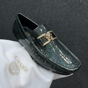 MIXED DIAMOND LEATHER CASUAL MEN'S LOAFER SHOE