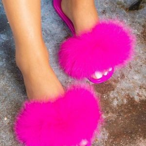 Hairy Fashion Slippers
