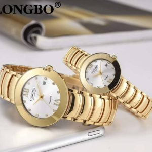 Gold Couple Wristwatches