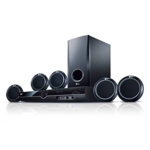 LG 358SD 3OOW 5.1CH, Home Theatre System USB Direct Recording and Playback