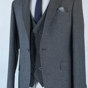 Turkish Designers Pilucci Suits Made With 100 % Wool Two-Piece Suit